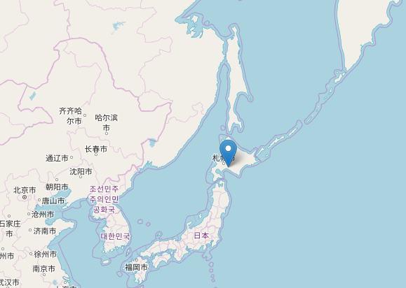 terremoto giappone mappa