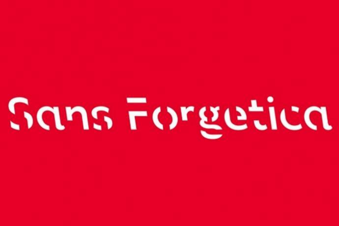 sans forgetica font memoria
