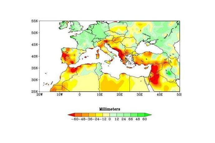 cambiamenti climatici Mediterraneo