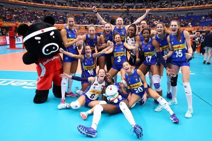 Italia volley femminile mondiale