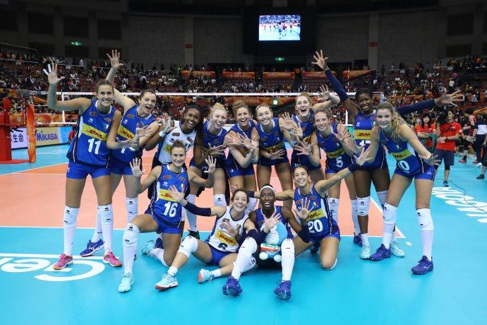 Italia Giappone volley