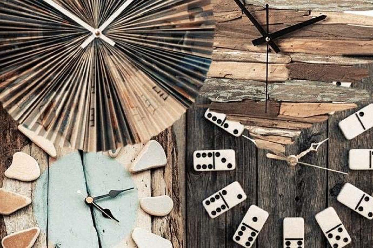 Orologi Da Parete Fai Da Te 10 Idee Per Realizzarli Con Materiali Di Scarto Greenme