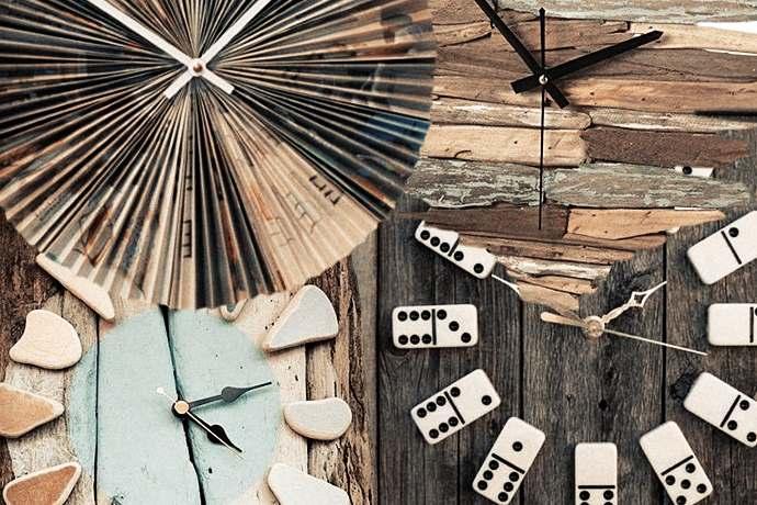 comprare bene molto carino nuovo prodotto Orologi da parete fai-da-te: 10 idee per realizzarli con ...