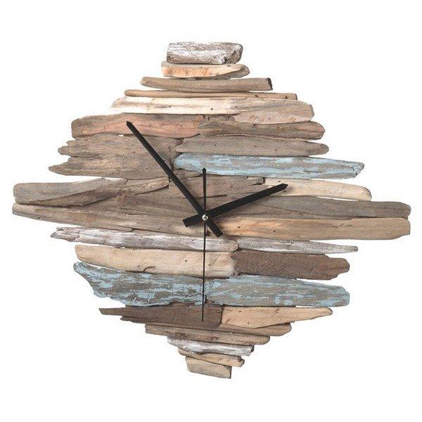 orologio riciclo legno