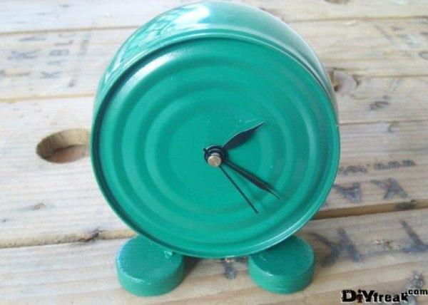 orologio riciclo