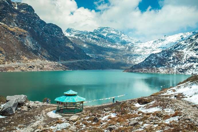 Lago Tsangmo, Sikkim, India