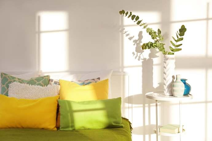 Sole in casa