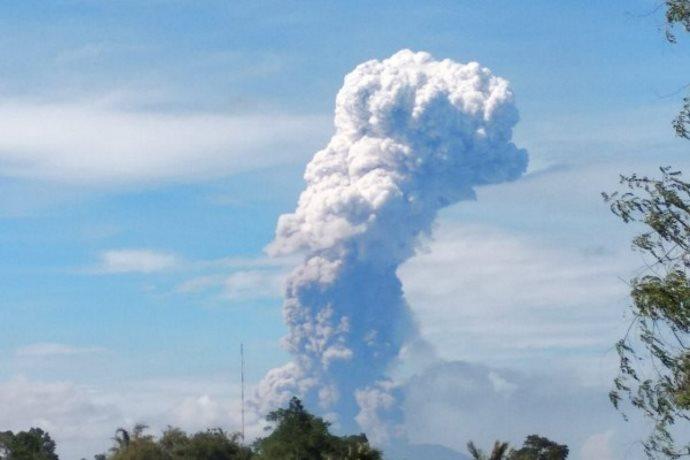 vulcano Soputan