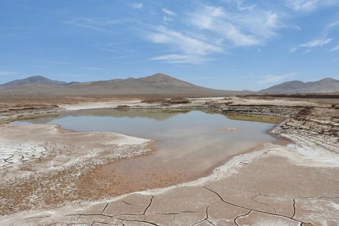pioggia deserto di Atacama