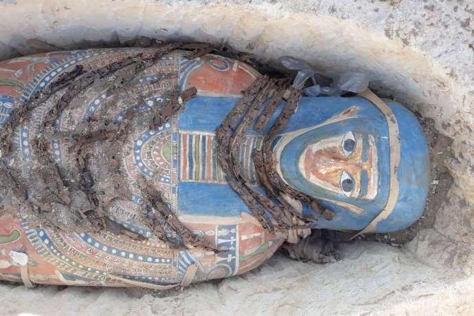 ritrovamento 8 mummie egitto