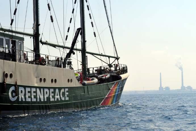 Greenpeace stage