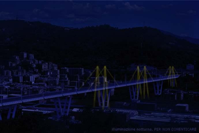Ponte luce Genova