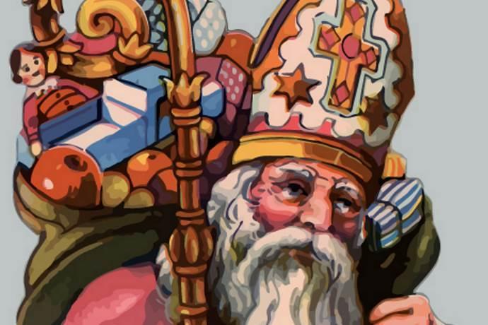 Babbo Natale E San Nicola.San Nicola La Vera Storia Di Babbo Natale Tradizioni E