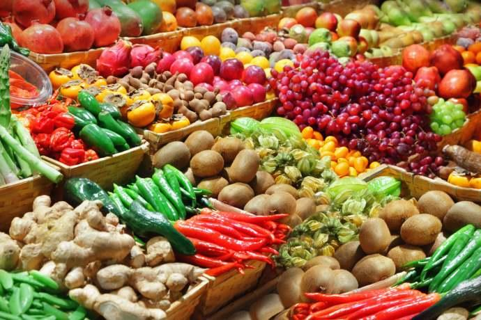 Vendite frutta e verdura