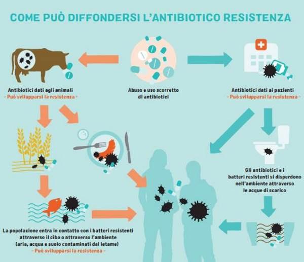 antibiotici fiumi