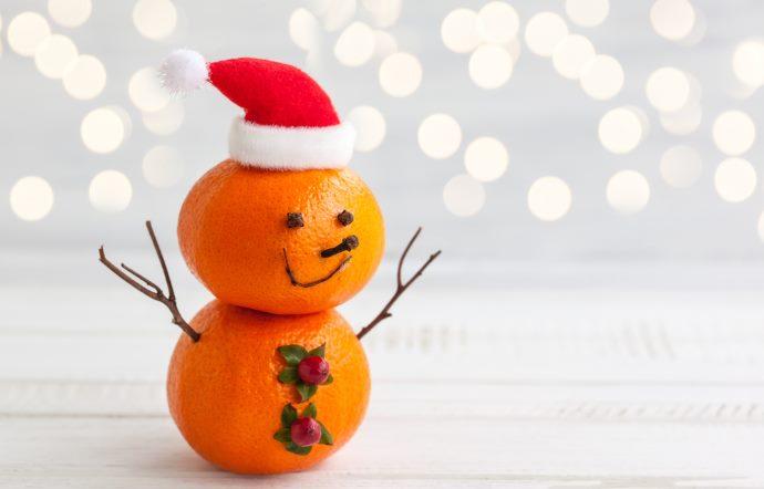 arance decorazioni natale 2