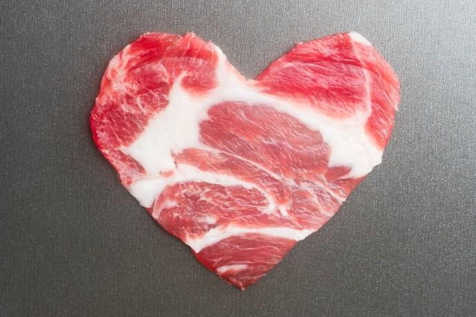 carne rossa cuore