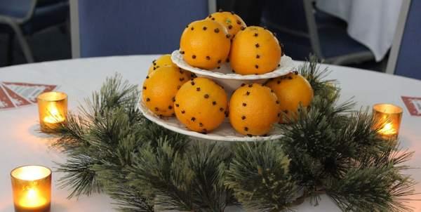 decorazioni natale arance
