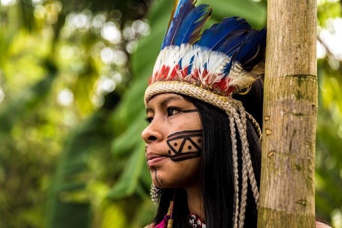 indigeni Amazzonia parco naturale