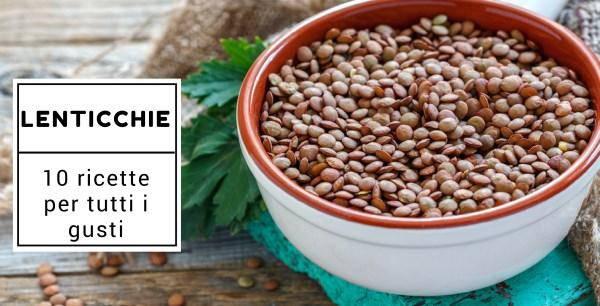 ricette lenticchie
