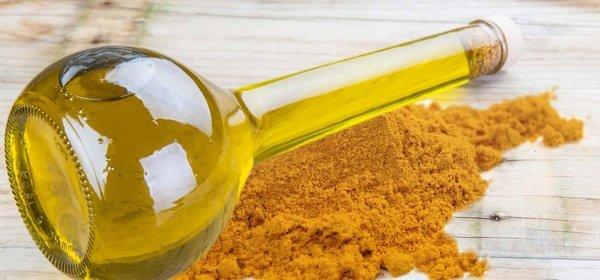 olio alla curcuma