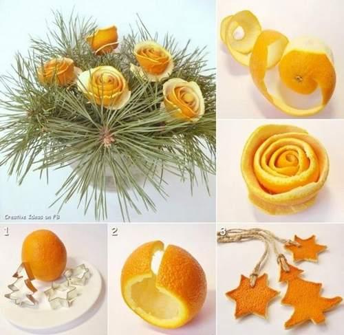 rose con le arance