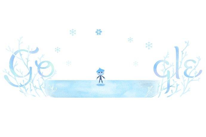 solstizio inverno doodle