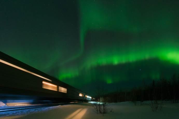 treno-aurora-boreale