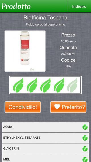app inci cosmetici 2 biotiful