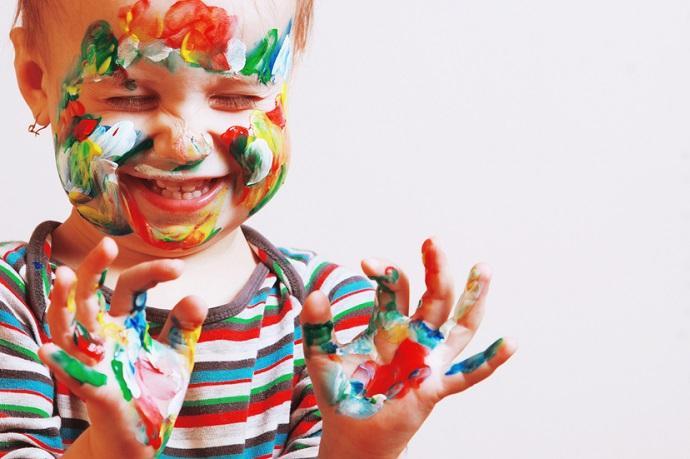arte bambini benefici