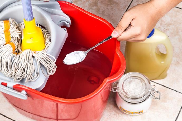 bicarbonato pulizie