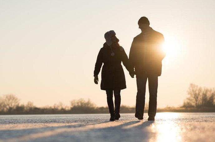camminare freddo