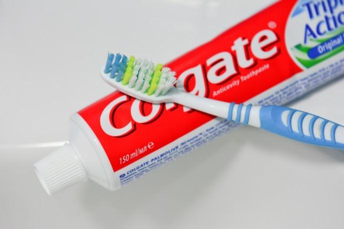 colgate triclosan