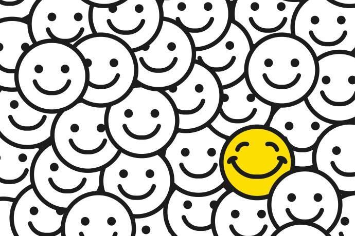 Espressioni felicità