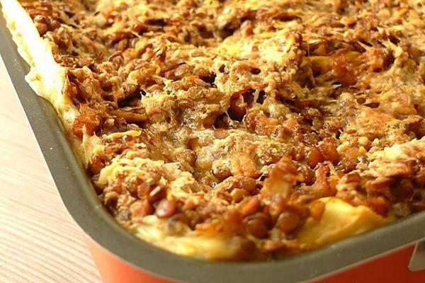 lasagne lenticchie