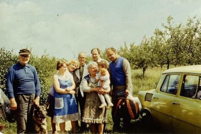 longevità ereditaria zii e zie