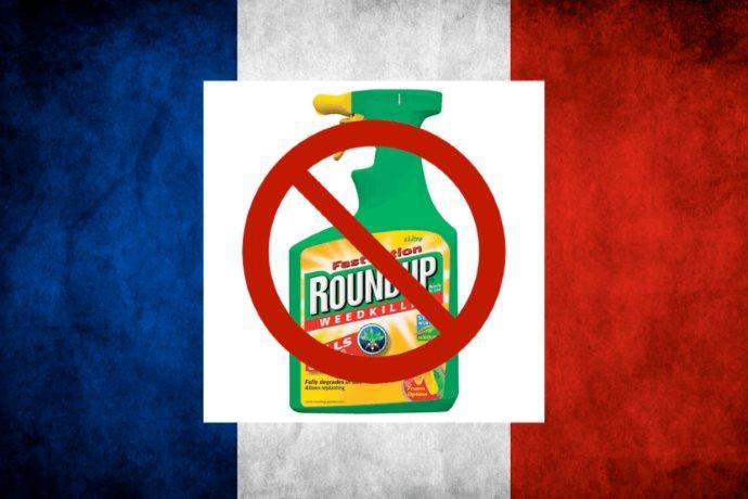 bando glifosato francia