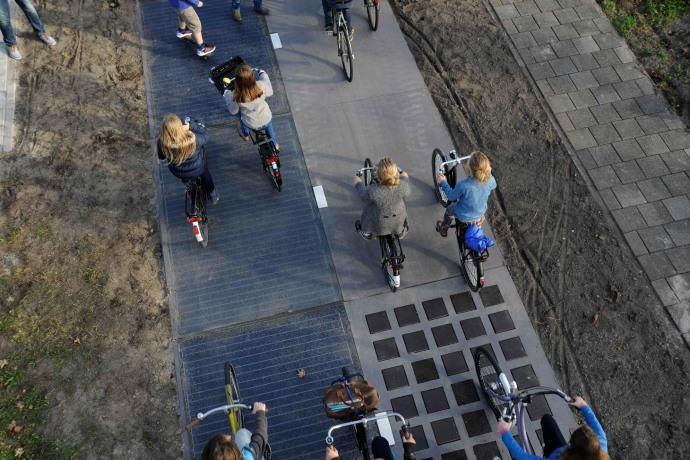 Villasimius pista ciclabile solare