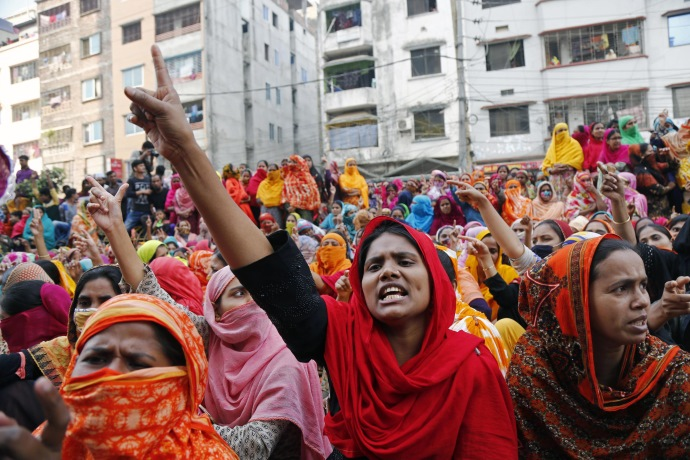 protesta Bangladesh
