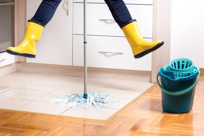 pulizie e attività fisica