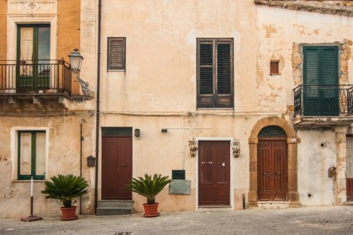 Case a 1 euro a Sambuca di Sicilia