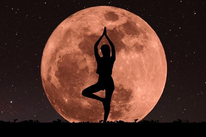 luna meditazione