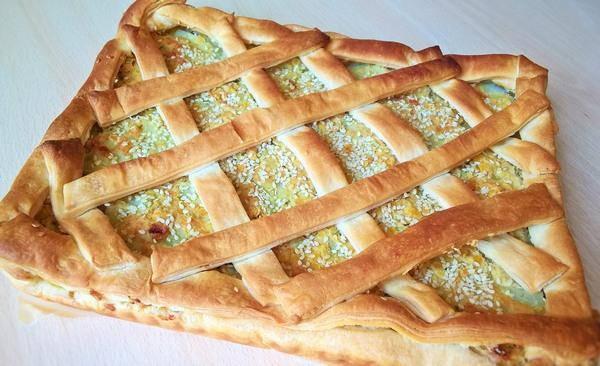 torta salata lenticchie