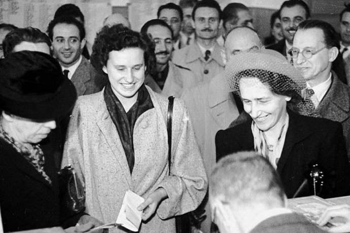 Voto alle donne 1945