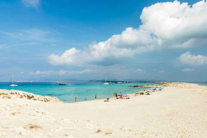 4. playa de ses illetes