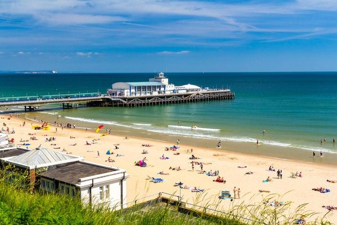 6. bournemouth beach