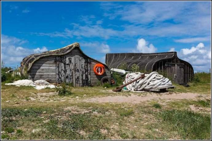 Holy Island capannoni