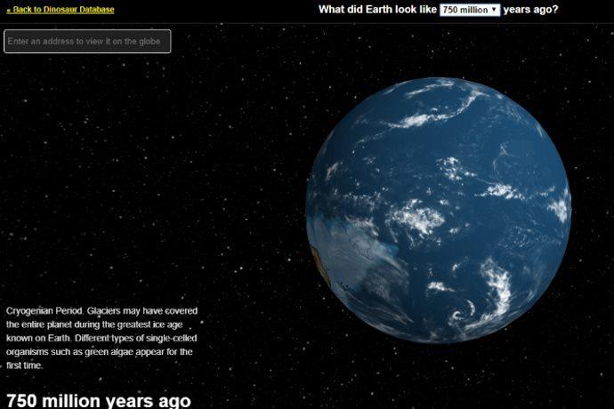 terra mappa interattiva preistoria