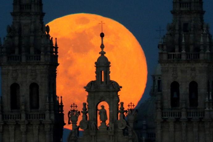superluna Santiago