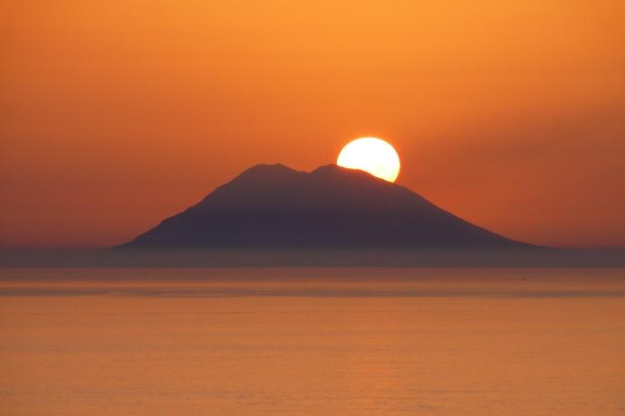 tramonto stromboli 2